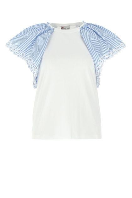 White cotton t-shirt