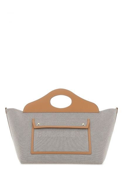 Canvas medium Pocket shopping bag