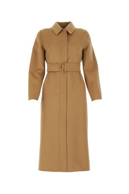 Camel wool blend 3Boario coat