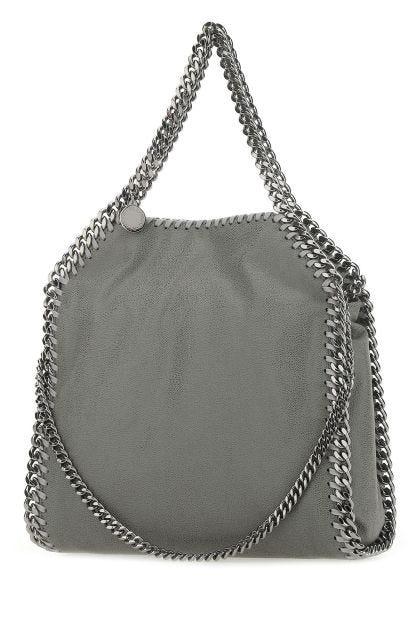 Grey shaggy deer mini Falabella handbag