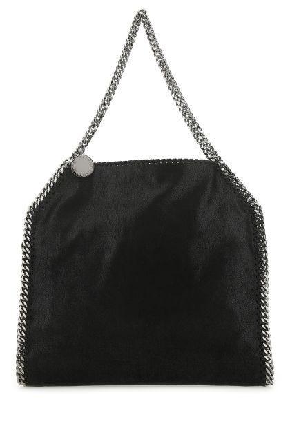 Black shaggy deer small Falabella shoulder bag