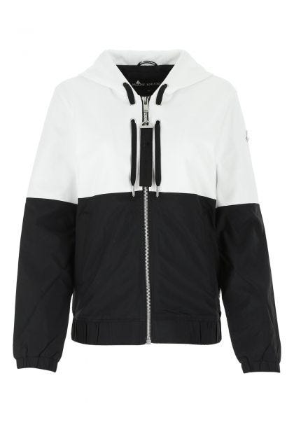 Two-tone cotton and nylon Travoltas sweatshirt