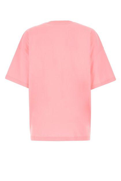 Pink cotton oversize t-shirt