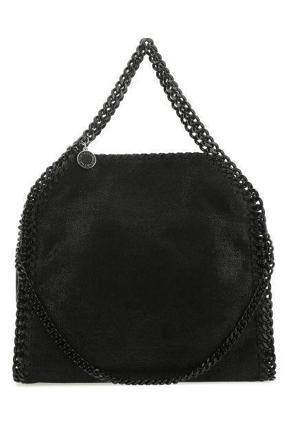 Black shaggy deer Falabella mini handbag