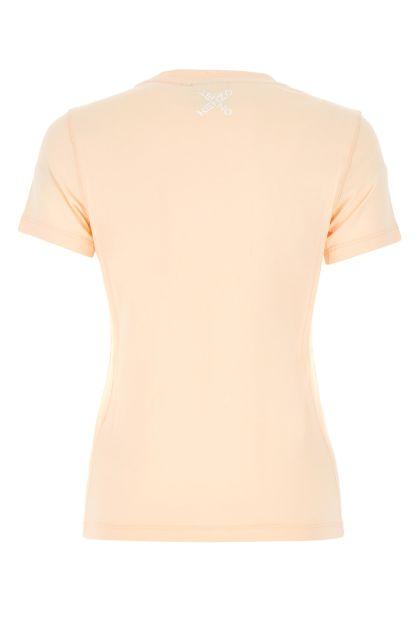 Skin pink cotton t-shirt