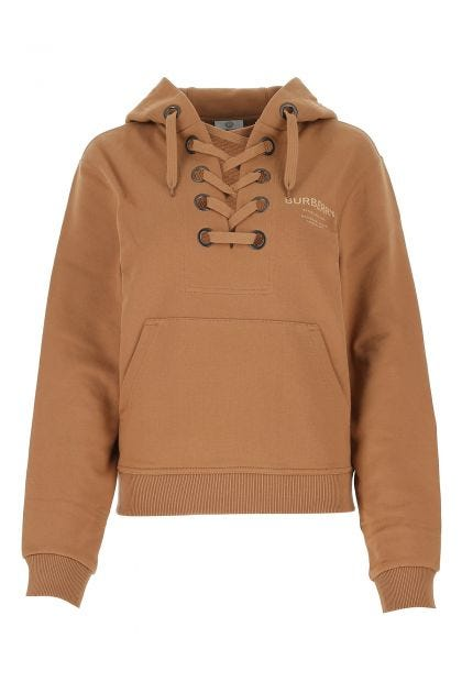 Camel cotton sweatshirt