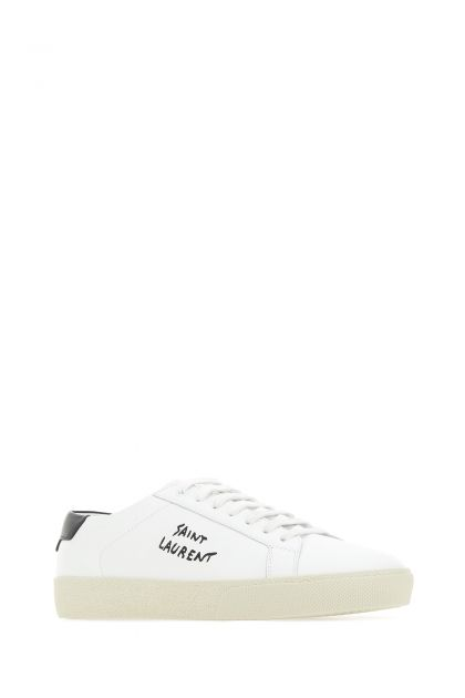 White leather Court SL / 06 sneakers