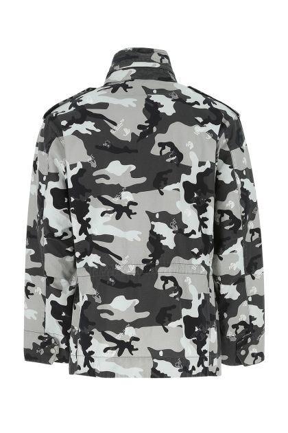 Printed cotton jacket