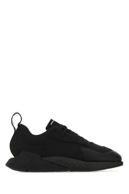 Black nylon Orisan sneakers
