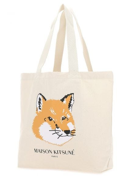 Sand cotton shopping bag