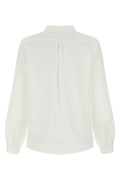 White silk Assuan shirt