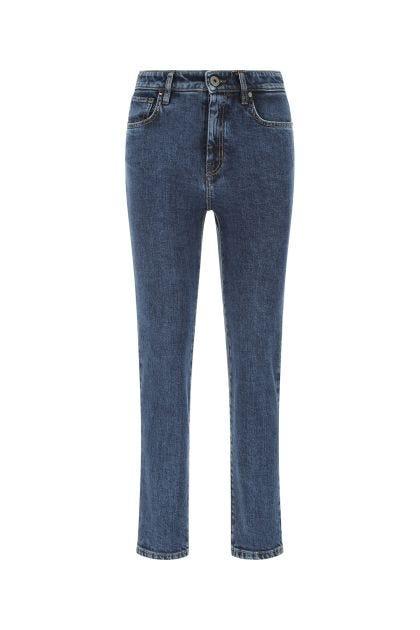Blue stretch denim Ostile jeans