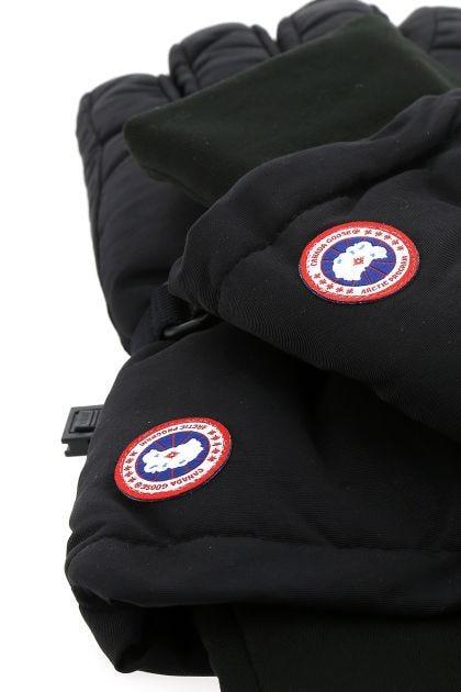 Black nylon blend Artict gloves