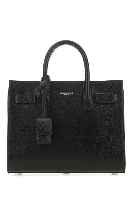 Black leather nano Sac De Jour handbag
