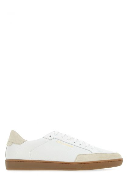 White leather Court Classic SL / 10 sneakers