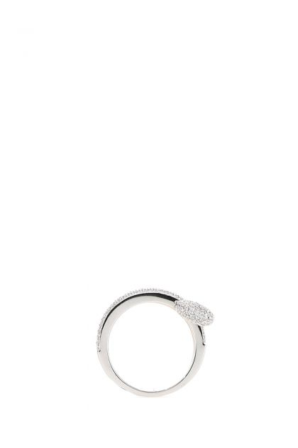 925 silver Safety Pin ring