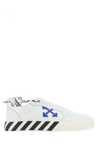 White leather Low Vulcanizer sneakers