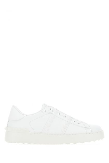 White leather Rockstud Untitled 11 sneakers