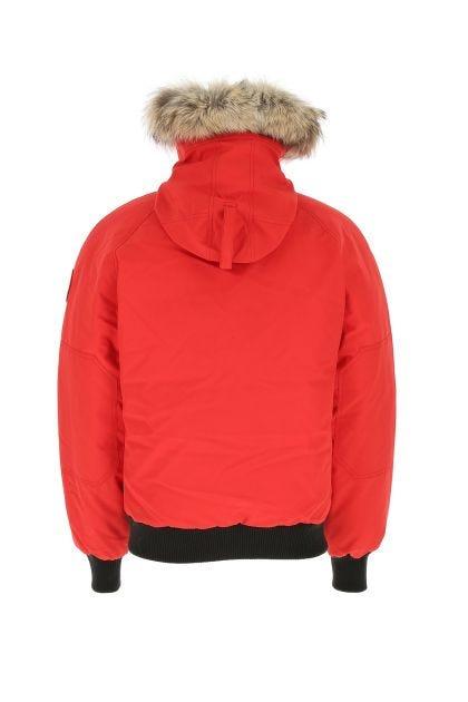 Red polyester blend Chillwack down jacket