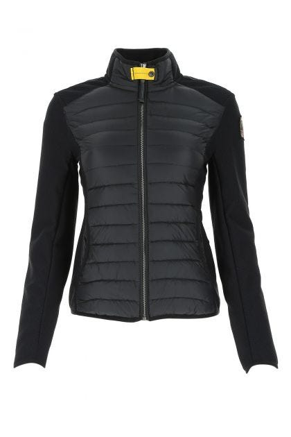 Black nylon Olivia down jacket