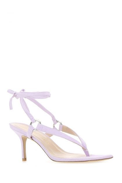 Lillac suede Lalita 75 thong sandals